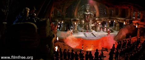 ইন্ডিয়ানা জোন্স অ্যান্ড দ্য টেম্পল অব ডোম । ইন্ডি হচ্ছে সু আর শক্তির অধিকারী; বাকিসব কু আর অশুভশক্তির প্রতিনিধি